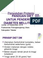 Panduan Diet DM