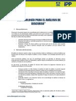 Metodologia Analisis de Discurso