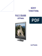 SONY WAX-2 Chassis AEP Models Technical Training Manual