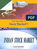 115 - Indian Stock Market - Sumit Dwivedi