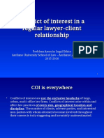 G - Conflict of Interest