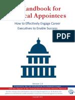 Political Appointee Handbook