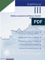 Politica Monetaria Del BCN