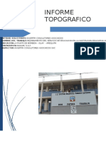 Informe Topografico Victor Manuel Torres Caceres