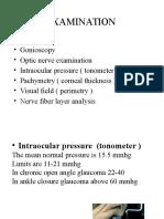 Glaucoma Treatement