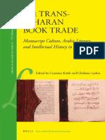 Kratly-Lydon - The Trans-Saharan Book trade, Manuscript culture, Arabic literacy and intellectual history in Muslim Africa.pdf