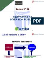 Sesión 2 - Proyectos Públicos