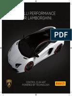 Lamborghini Pirelli Brochure