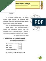 Ficha Avaliação Por2º