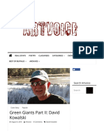 Green Giants - David Kowalski