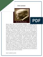BIOGRAFIA Émile Durkheim.docx