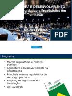 Agricultura e Desenvolvimento - Proposições Em Tramitação