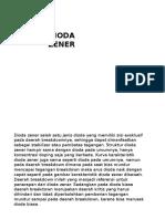 dioda zener ppt