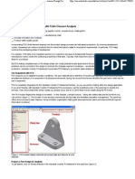 Autodesk Inventor - Assess Design Performance With FEA