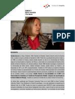 Entrevista Saskia Sassen. Globalización