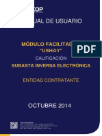 Subasta Inversa Electronica Servicios - Calificacion