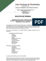 Boletín de Prensa 2 16 jun 2010