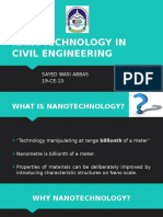 Nanotechnology in Civil Engineering