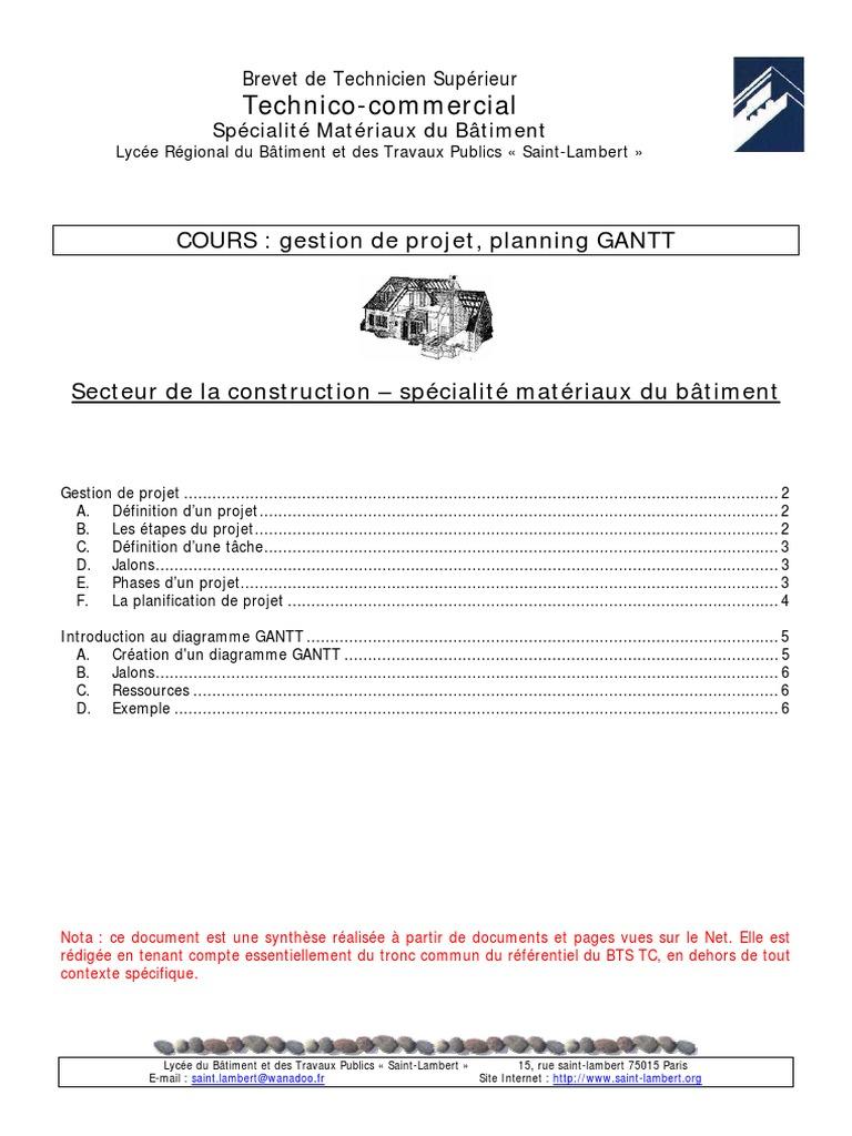 Cours gantt ccuart Choice Image