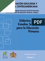 Didactica Estudios Sociales