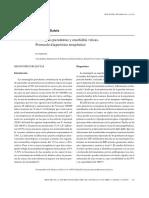 Meningitis Purulentas y Encefalitis Víricas.