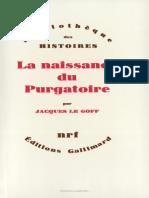 Legoff (1981) La Naissance Du Purgatoire