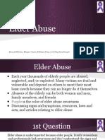 elder abuse powerpoint- welch