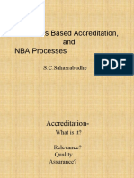 Faculty Awareness NBA -Dr-sahasrabuddhe