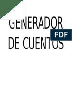 Generador de Cuentos