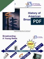 history of broadcast