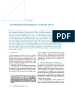 The Transmission Mechanism of Monetary Policy