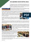 Nota de Prensa Inaugural Bali 2016