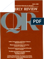 Fall 1989 Quarterly Review - Theological Resources for Ministry