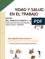 CONFERENCIA Seguridad Industrial y Salud Ocupacional