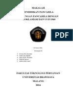 Hubungan Pancasila Dg Uud Dan Proklamasi