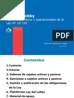 Ley Lobby DGA