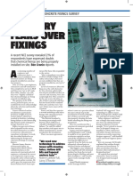 Industry Fears Over Fixings
