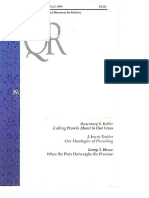 Fall 1995 Quarterly Review - Theological Resources for Ministry