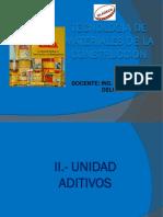 Aditivos Unidad 2-3