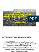 Presentation - Concrete