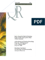 Fall 2000 Quarterly Review - Theological Resources for Ministry