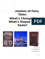 evolution of fairy tales - unit plan