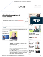 All the PM's Men and Women_ 23 Cabinet ministers _ The Indian Express.pdf
