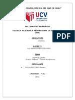 Informe de Estatica - Puentes