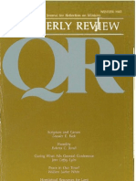 Winter 1983-1984 Quarterly Review - Theological Resources for Ministry