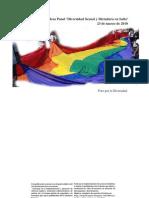 Diversidad Sexual y Dictadura. Mesa Panel