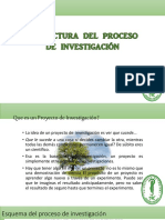 3. Estructura Del Proceso de Investigación