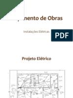Orçamento de Obras. Elétrica