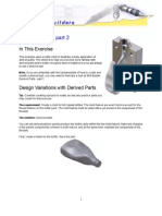 Autodesk Inventor - Skill Builder-Derived Parts 2