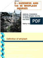 VERTIGO-DIZZINESS AND TINNITUS IN WHIPLASH INJURIES (INTRODU